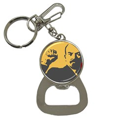Power With Lenin Bottle Opener Key Chain