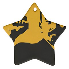 Power With Lenin Star Ornament (two Sides)