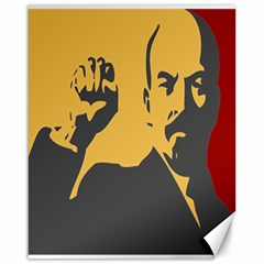 POWER WITH LENIN Canvas 16  x 20  (Unframed)