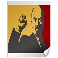 Power With Lenin Canvas 18  X 24  (unframed)