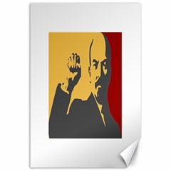 POWER WITH LENIN Canvas 24  x 36  (Unframed)