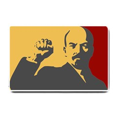 POWER WITH LENIN Small Door Mat
