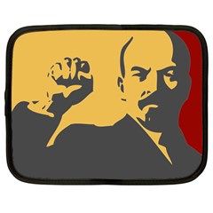 POWER WITH LENIN Netbook Case (Large)