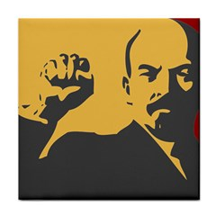 POWER WITH LENIN Face Towel