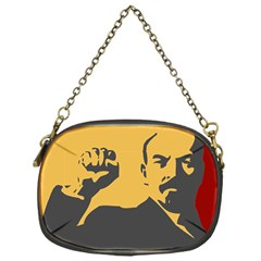 POWER WITH LENIN Chain Purse (One Side)
