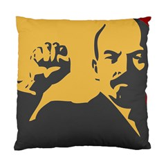 Power With Lenin Cushion Case (two Sided)