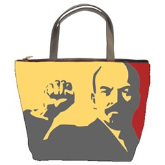 POWER WITH LENIN Bucket Bag