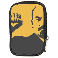 Power With Lenin Compact Camera Leather Case