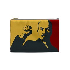 POWER WITH LENIN Cosmetic Bag (Medium)