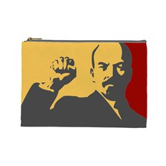 Power With Lenin Cosmetic Bag (large)