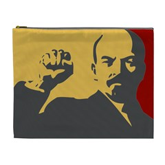 POWER WITH LENIN Cosmetic Bag (XL)