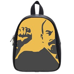POWER WITH LENIN School Bag (Small)