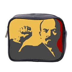 POWER WITH LENIN Mini Travel Toiletry Bag (Two Sides)