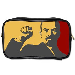Power With Lenin Travel Toiletry Bag (two Sides)