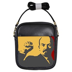POWER WITH LENIN Girl s Sling Bag