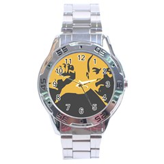 Power With Lenin Stainless Steel Watch (men s)
