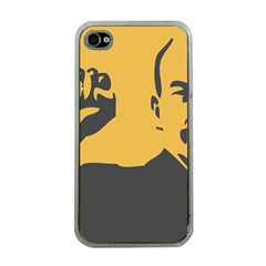 Power With Lenin Apple Iphone 4 Case (clear)
