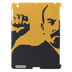 POWER WITH LENIN Apple iPad 3/4 Hardshell Case (Compatible with Smart Cover)