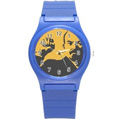 POWER WITH LENIN Plastic Sport Watch (Small)