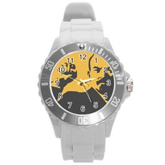 POWER WITH LENIN Plastic Sport Watch (Large)