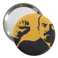 POWER WITH LENIN 3  Handbag Mirror