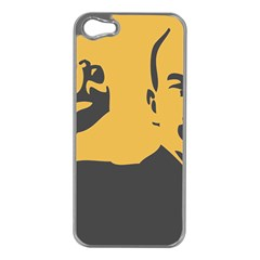 Power With Lenin Apple Iphone 5 Case (silver)