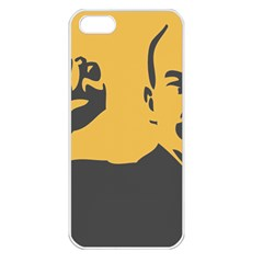 Power With Lenin Apple Iphone 5 Seamless Case (white)