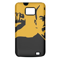 POWER WITH LENIN Samsung Galaxy S II Hardshell Case (PC+Silicone)