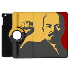 POWER WITH LENIN Apple iPad Mini Flip 360 Case
