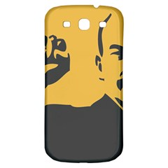 POWER WITH LENIN Samsung Galaxy S3 S III Classic Hardshell Back Case