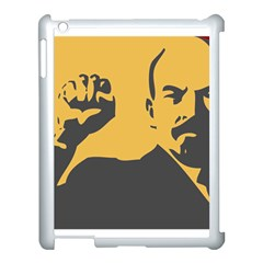 POWER WITH LENIN Apple iPad 3/4 Case (White)