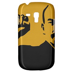 POWER WITH LENIN Samsung Galaxy S3 MINI I8190 Hardshell Case