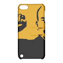 POWER WITH LENIN Apple iPod Touch 5 Hardshell Case with Stand