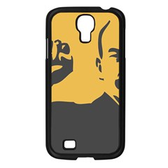 Power With Lenin Samsung Galaxy S4 I9500/ I9505 Case (black)