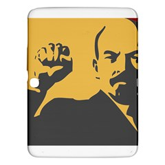 Power With Lenin Samsung Galaxy Tab 3 (10 1 ) P5200 Hardshell Case