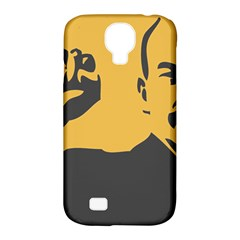 Power With Lenin Samsung Galaxy S4 Classic Hardshell Case (pc+silicone)