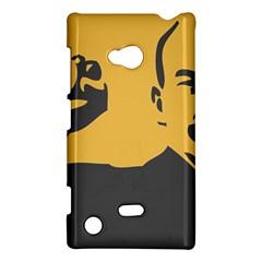 POWER WITH LENIN Nokia Lumia 720 Hardshell Case