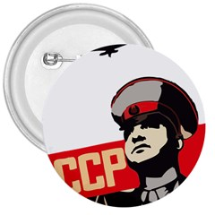 Soviet Red Army 3  Button