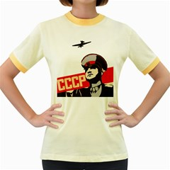 Soviet Red Army Womens  Ringer T-shirt (Colored)