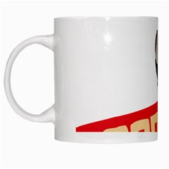 Soviet Red Army White Coffee Mug