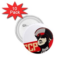 Soviet Red Army 1 75  Button (10 Pack)