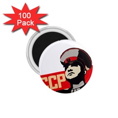 Soviet Red Army 1.75  Button Magnet (100 pack)