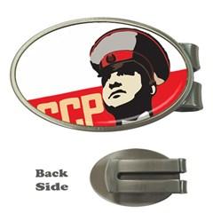 Soviet Red Army Money Clip (Oval)