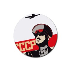 Soviet Red Army Drink Coasters 4 Pack (Round)