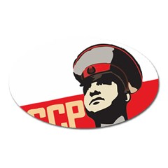 Soviet Red Army Magnet (Oval)