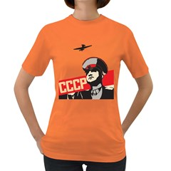 Soviet Red Army Womens' T-shirt (Colored)
