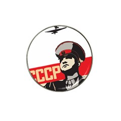 Soviet Red Army Golf Ball Marker 4 Pack (for Hat Clip)