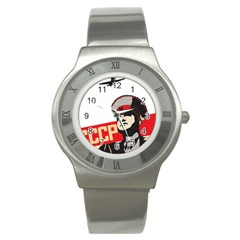 Soviet Red Army Stainless Steel Watch (Unisex)