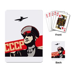 Soviet Red Army Playing Cards Single Design