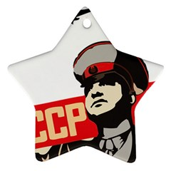 Soviet Red Army Star Ornament (Two Sides)